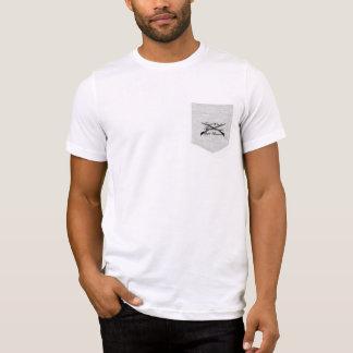 T-shirt la guerre civile et les chasseurs divers de