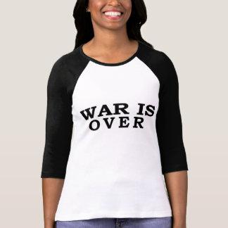 T-shirt La guerre est terminée