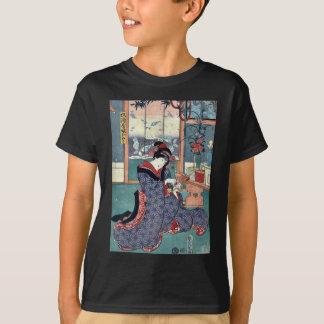 T-shirt La jeune fille du magasin de vins et de spiritueux