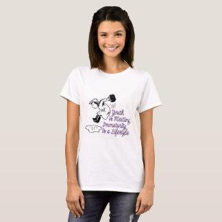 T-shirt La jeunesse est passagère - éclaboussure