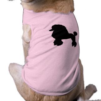 T-shirt la jupe rose de caniche des années 1950 a inspiré