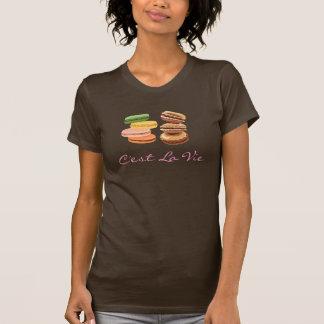 T-shirt La La de C'est luttent (qu'est à dire la vie) le