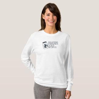T-shirt La lecture augmente votre chemise du monde