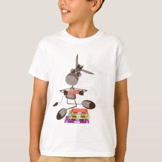 T-shirt La lecture intellectuelle d'âne