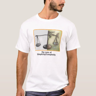 T-shirt La lentille de la simplicité/de complexité