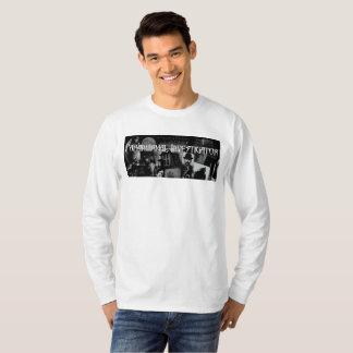 T-shirt La longue douille T des hommes paranormaux