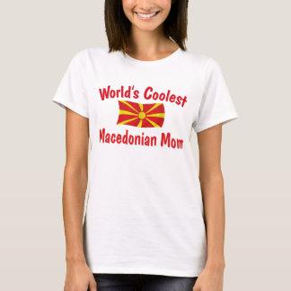 T-shirt La maman macédonienne la plus fraîche