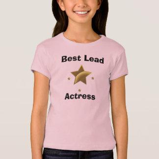 T-shirt La meilleure actrice principal