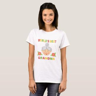 T-shirt La meilleure grand-maman du monde !
