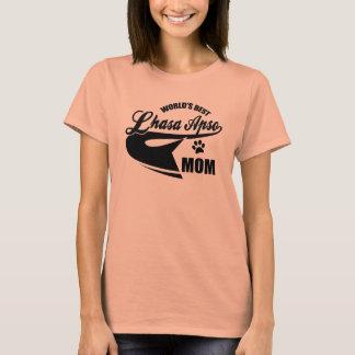 T-shirt La meilleure maman de Lhasa Apso du monde