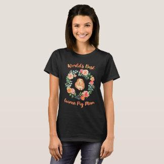 T-shirt La meilleure maman du cobaye du monde