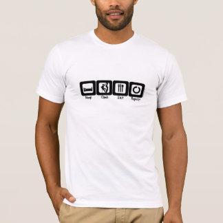 T-shirt La montée de sommeil mangent la répétition