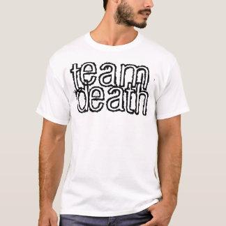 T-shirt la mort d'équipe