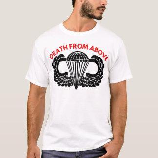 T-shirt La mort des ailes ci-dessus de parachute