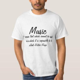 T-shirt La musique exprime…