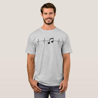 T-shirt La musique garde mon battement de coeur