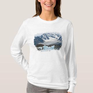 T-shirt La Norvège, le glacier de recul et l'iceberg