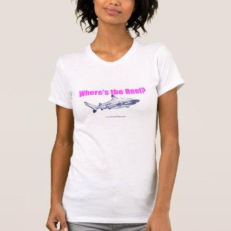 T-shirt Là où est le réservoir de la représentation des