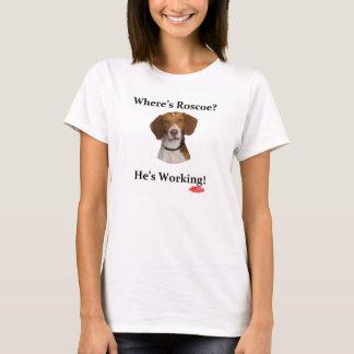 T-shirt Là où est Roscoe - le bébé des femmes - poupée