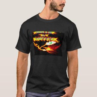 T-shirt La pêche est le feu