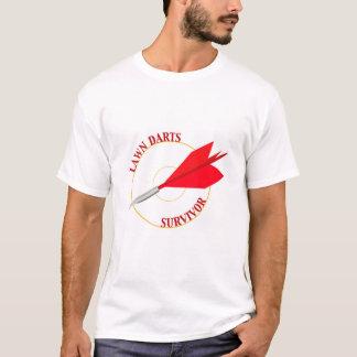 T-shirt La pelouse darde le survivant