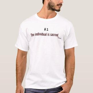 T-shirt La personne est sacrée