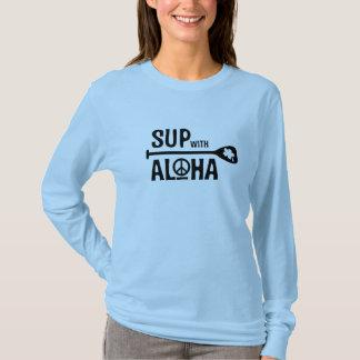 T-shirt La PETITE GORGÉE de Wahine avec Aloha gainent