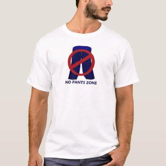 T-shirt La pièce en t classique d'aucuns de pantalon