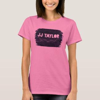 T-shirt La pièce en t de base des femmes de JJ Taylor