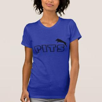 T-shirt La pièce en t de douille de short de silhouette de