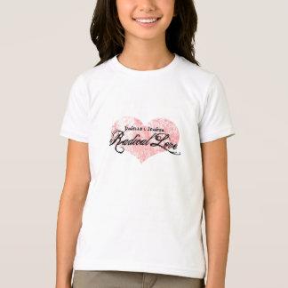 T-shirt La pièce en t de la fille radicale d'amour de