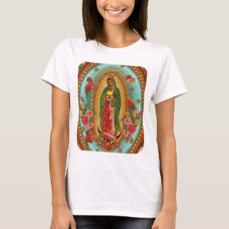 T-shirt La pièce en t des femmes de saint de taco