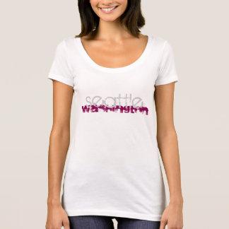 T-shirt La pièce en t des femmes de Seattle Washington