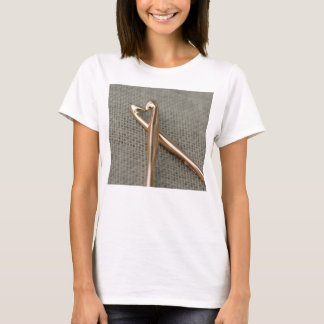 T-shirt La pièce en t des femmes des amants de crochet