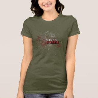 T-shirt La pièce en t des femmes sauvées