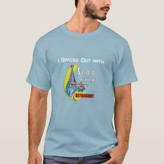 T-shirt La pièce en t des hommes d'astronomie de