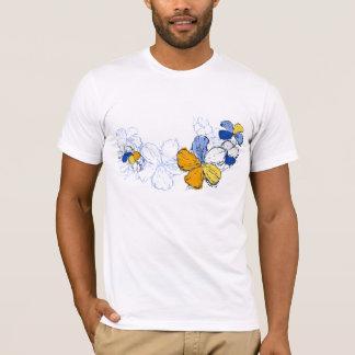T-shirt La pièce en t des hommes de ketmie de griffonnage