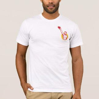 T-shirt La pièce en t des hommes de Kettlebell