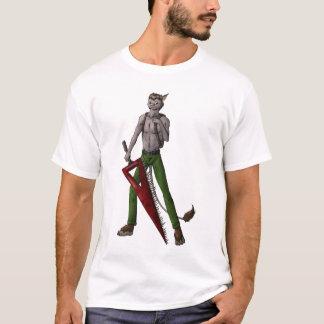 T-shirt La pièce en t des hommes de Roscoe