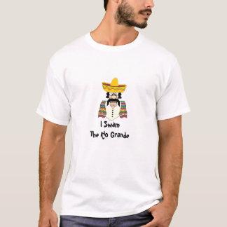 T-shirt La pièce en t des hommes, Mexicain, Rio Grande d'I