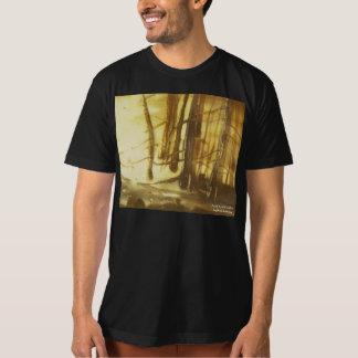 T-shirt La pièce en t ensoleillée des hommes de clairière