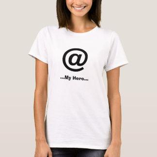 """T-shirt La pièce en t (escroc) de """"mes femmes de héros"""""""
