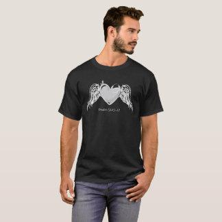 T-shirt La pièce en t foncée des hommes du psaume 51