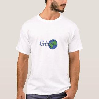 T-shirt la planète terre - géographie