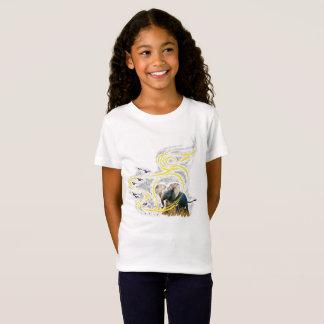 T-Shirt La poussière d'or de vent et de fleur