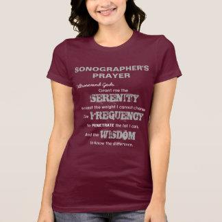 T-shirt La prière de Sonographer