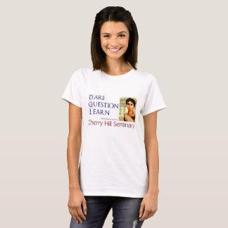 T-shirt La question de défi apprennent