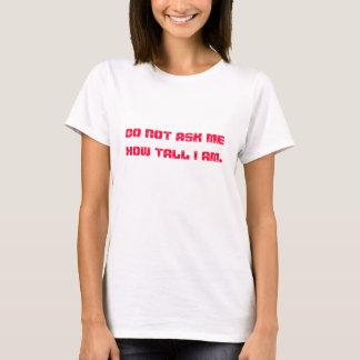 T-shirt La question la plus ennuyante