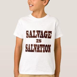 T-shirt la récupération est salut