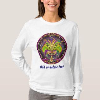 T-shirt La Reine de mardi gras toute la vue de styles note